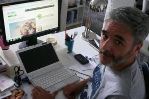 Mikel Iturriaga, il capo di tutti bloggeri gastronómicci. Fuente